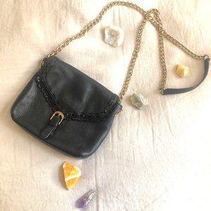 Vintage Leather Crossbody Bag